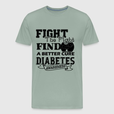 The Fight Diabetes Awareness Shirt - Men's Premium T-Shirt