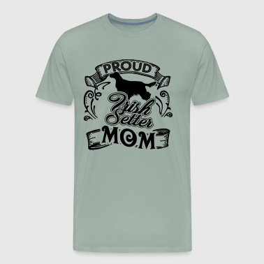 Irish Setter Mom Shirt - Men's Premium T-Shirt