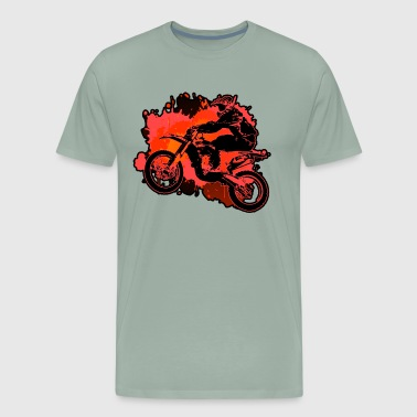 Ride Dirt Bike Shirt - Men's Premium T-Shirt