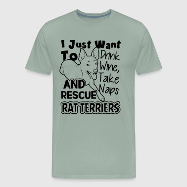 Rescue Rat Terriers Shirt - Men's Premium T-Shirt