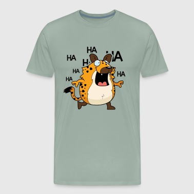 Happy Hyena Shirt - Men's Premium T-Shirt