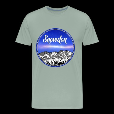 Mount Snowdon - Men's Premium T-Shirt