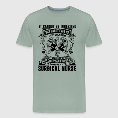 Surgical Nurse Forever Title Shirt - Men's Premium T-Shirt