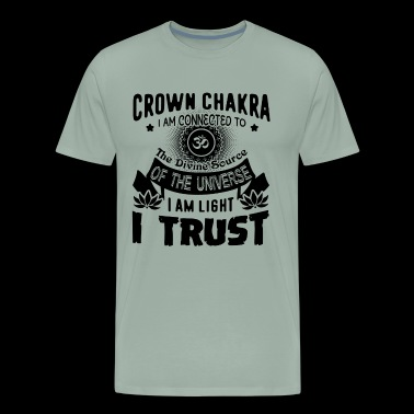 Crown Chakra Shirt - Men's Premium T-Shirt
