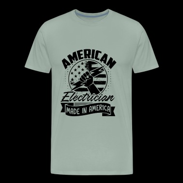 American Electrician Made In America Shirt - Men's Premium T-Shirt