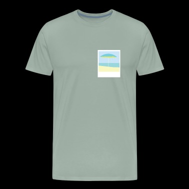 tranquil waters - Men's Premium T-Shirt