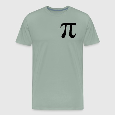 pi logo - Men's Premium T-Shirt
