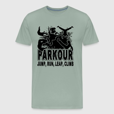 Parkour Jump Run And Leap Shirt - Men's Premium T-Shirt