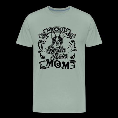 Boston Terrier Mom Shirt - Men's Premium T-Shirt