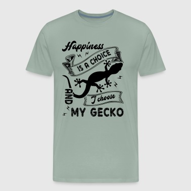 Happiness I Choose My Gecko Shirt - Men's Premium T-Shirt