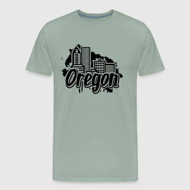 Oregon Home Shirt - Men's Premium T-Shirt