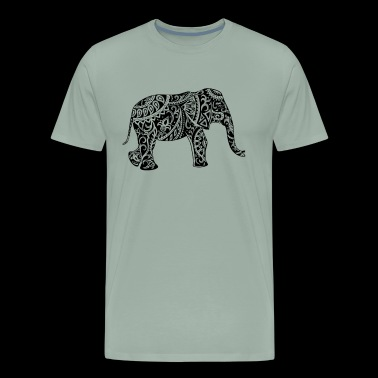 Elephant Shirt - Men's Premium T-Shirt