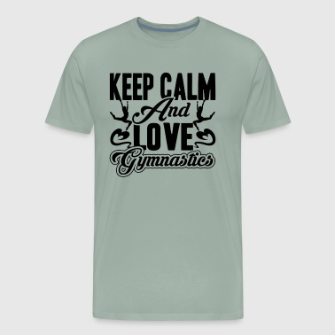Keep Calm And Love Gymnastics Shirt - Men's Premium T-Shirt