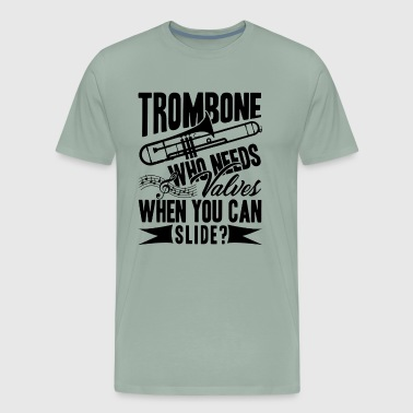 Trombone Player Shirt - Men's Premium T-Shirt