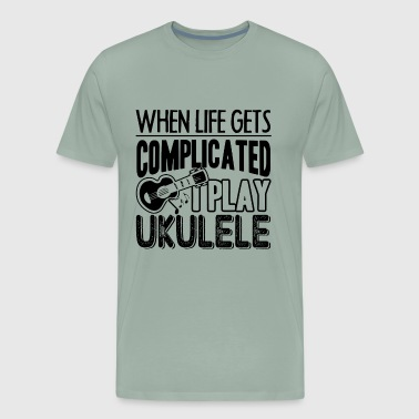 I Play Ukulele Shirt - Men's Premium T-Shirt