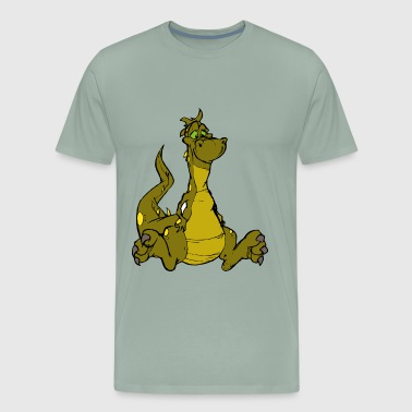 dragon dragon head chinese dragon - Men's Premium T-Shirt