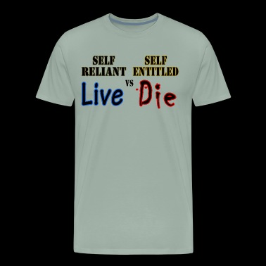 Live or Die - Men's Premium T-Shirt