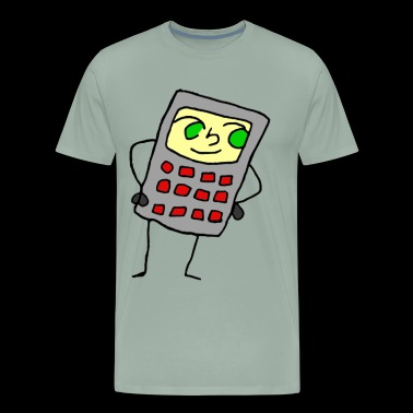 Calculator Chan - Men's Premium T-Shirt