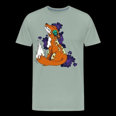 Music Fox comic kids - Men's Premium T-Shirt