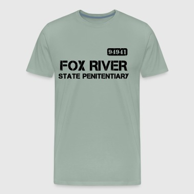 Fox River State Penitentiary - Men's Premium T-Shirt