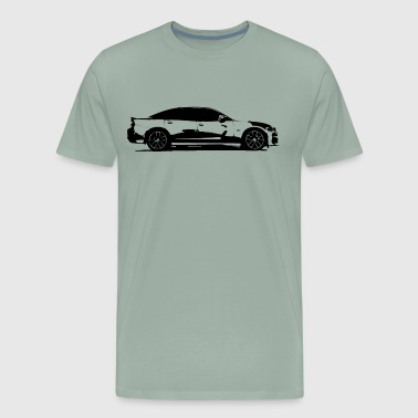 Charger Scatpack - Men's Premium T-Shirt