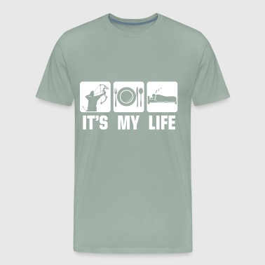 Its mylife Archery - Men's Premium T-Shirt
