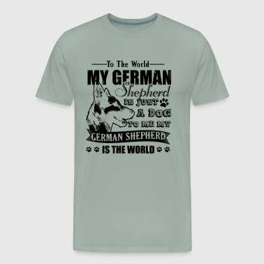 German Shepherd Shirt - Men's Premium T-Shirt