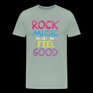 Rock music Feel good Design - Men's Premium T-Shirt