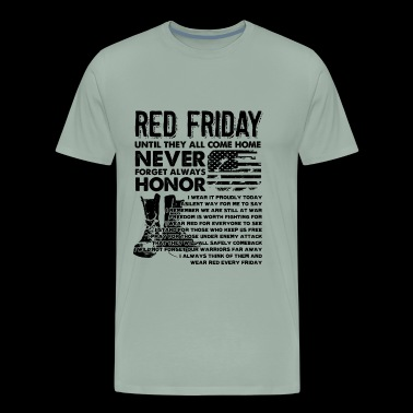 Red Friday Shirt - Red Friday Come Home T shirt - Men's Premium T-Shirt