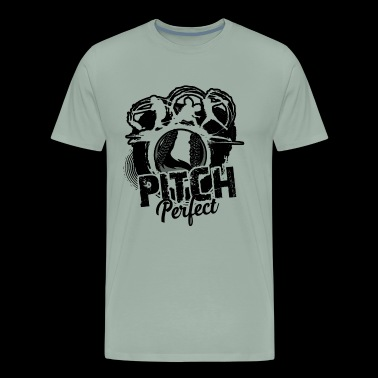 Softball Shirt - Pitch Perfect Softball T shirt - Men's Premium T-Shirt