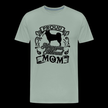 Norwegian Elkhound Mom Shirt - Men's Premium T-Shirt