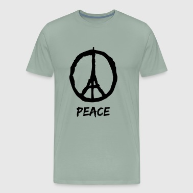 Peace for Paris - Men's Premium T-Shirt