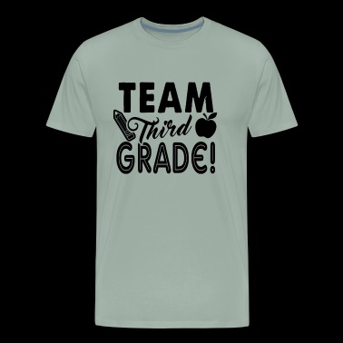 Team Third Grade Teacher Shirt - Men's Premium T-Shirt
