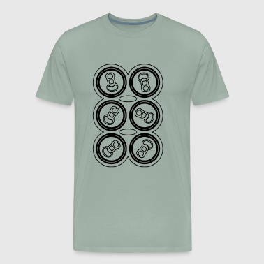 Six Pack Funny tshirt - Men's Premium T-Shirt