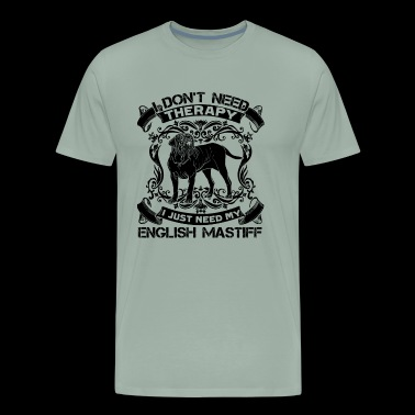 English Mastiff Shirt - English Mastiff Dog Tshirt - Men's Premium T-Shirt
