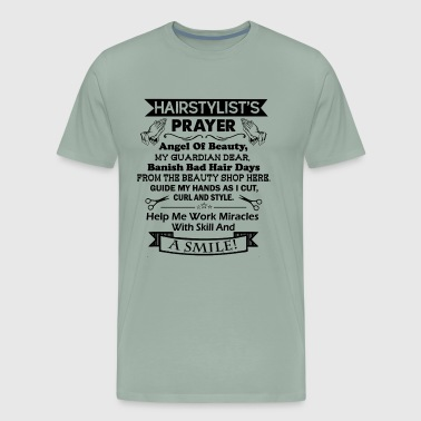 Hairstylist s Prayer Tee - Men's Premium T-Shirt