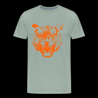 Tiger - choose your own color! - Men's Premium T-Shirt