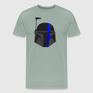Thin Blue Line - Boba Fett - Men's Premium T-Shirt