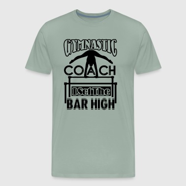 Gymnastic Coach Shirt - Men's Premium T-Shirt