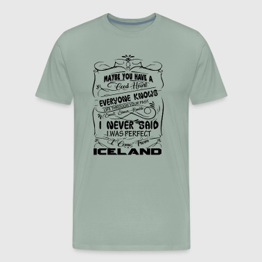 I Come From Iceland Shirt - Men's Premium T-Shirt