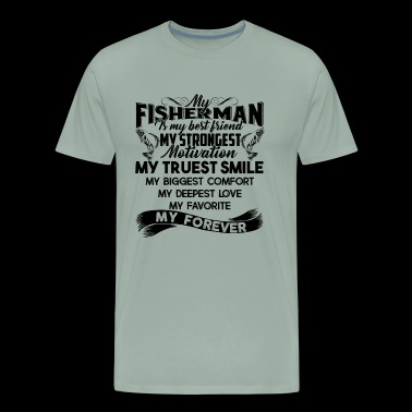 Fisherman Shirt - Fisherman Is My Friend T shirt - Men's Premium T-Shirt