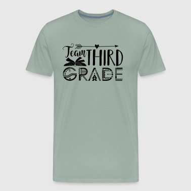 3rd Grade Teacher Shirt - Men's Premium T-Shirt