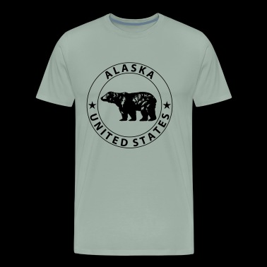 Alaska Design - Men's Premium T-Shirt