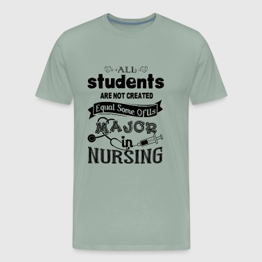 Major In Nursing Students Shirt - Men's Premium T-Shirt