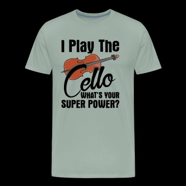 Cello Shirt - I Play The Cello T shirt - Men's Premium T-Shirt
