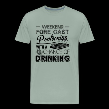 Weekend Forecast Pontooning Shirt - Men's Premium T-Shirt