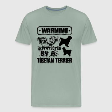 Protected By Tibetan Terrier Shirt - Men's Premium T-Shirt