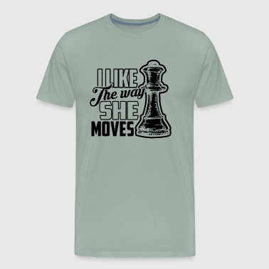 Funny Chess Shirt - Men's Premium T-Shirt