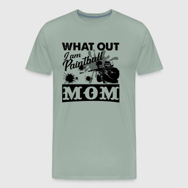 I Am Paintball Mom Shirt - Men's Premium T-Shirt