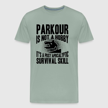 Parkour Survival Skill Shirt - Men's Premium T-Shirt